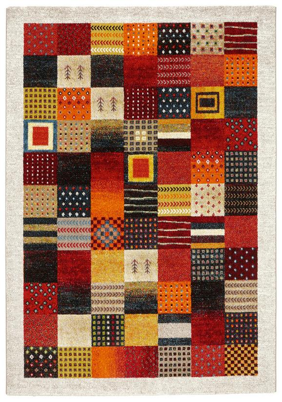 Webteppich Lima - Beige/Gelb, LIFESTYLE, Textil (160/230cm) - MÖMAX modern living