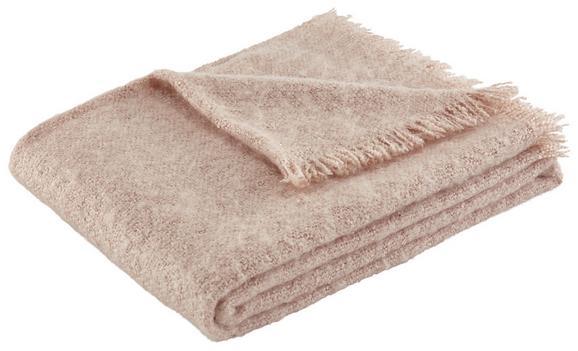 Mehka Odeja Mohair - roza, Romantika, tekstil (130/170cm) - Mömax modern living