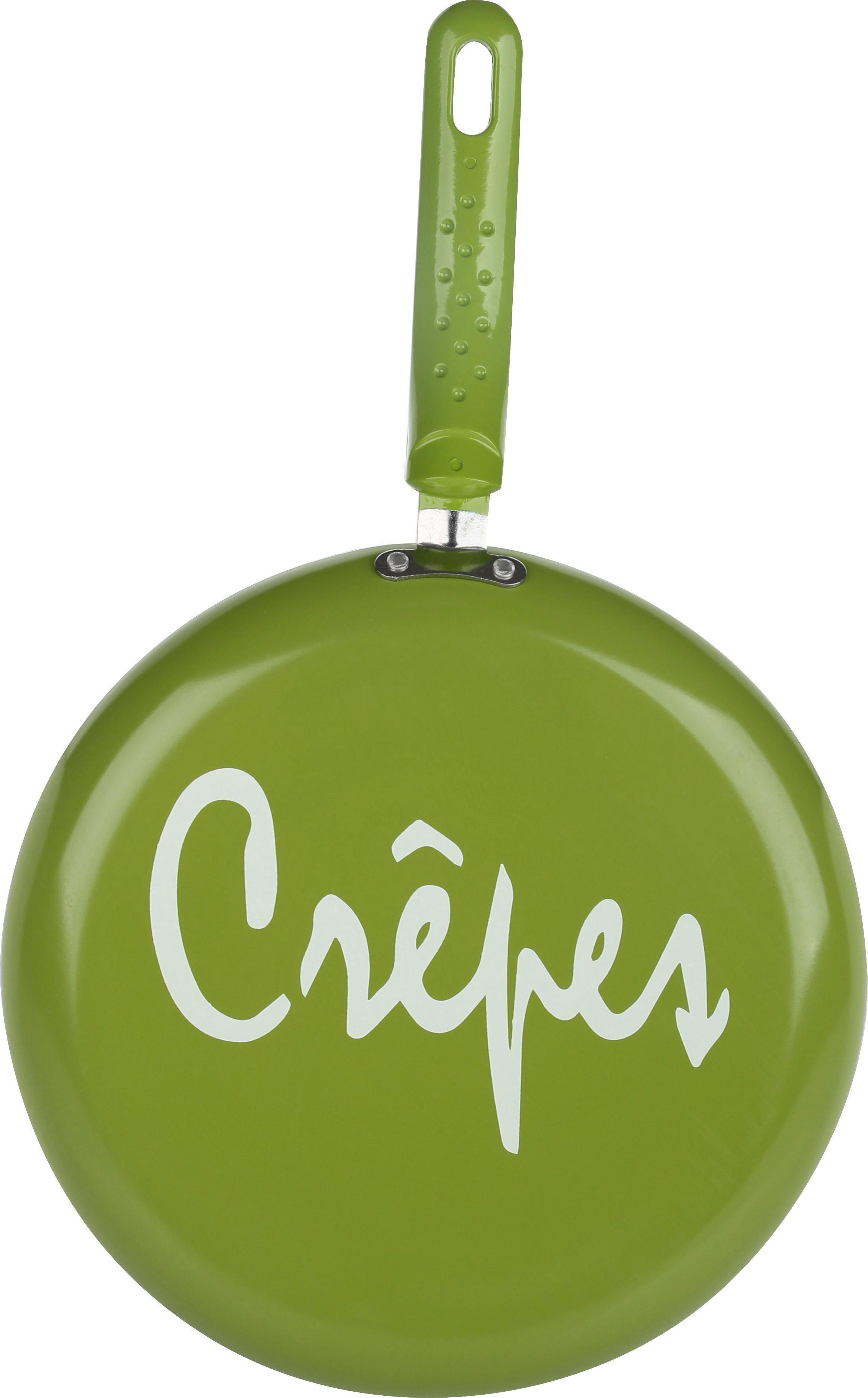 Crepespfanne Sherry in Grün - Grün, Kunststoff/Metall (26/2cm) - MÖMAX modern living