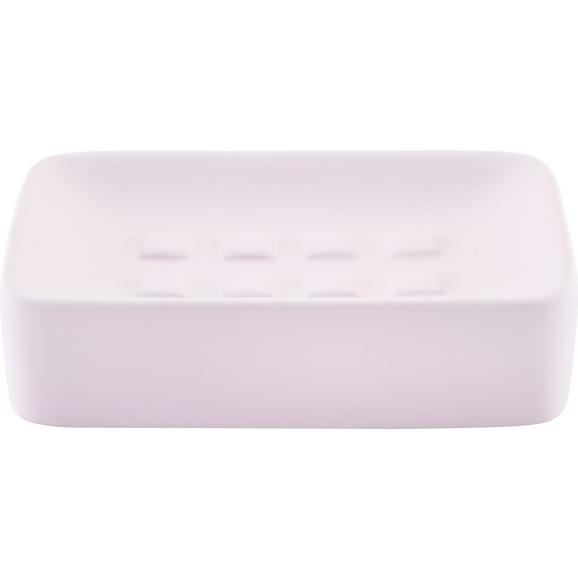 Savonieră Melanie - roz, ceramică (8,3/12,5cm) - Modern Living