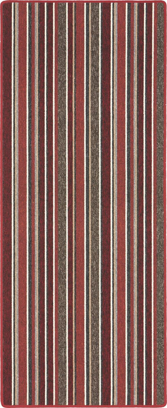 Futó Funky Stripes - piros, konvencionális, textil (80/200cm) - MÖMAX modern living