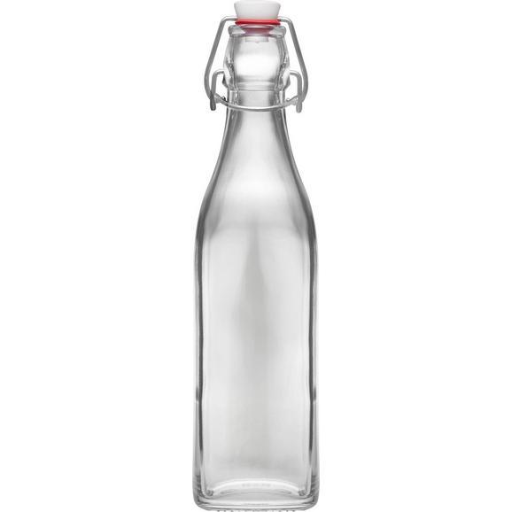 Universalflasche Swing aus Glas, ca. 0,5l - Klar, Glas (0,5l) - Mömax modern living