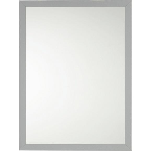 Stensko Ogledalo Silver -sb- - srebrna, steklo/leseni material (60/80/2cm)