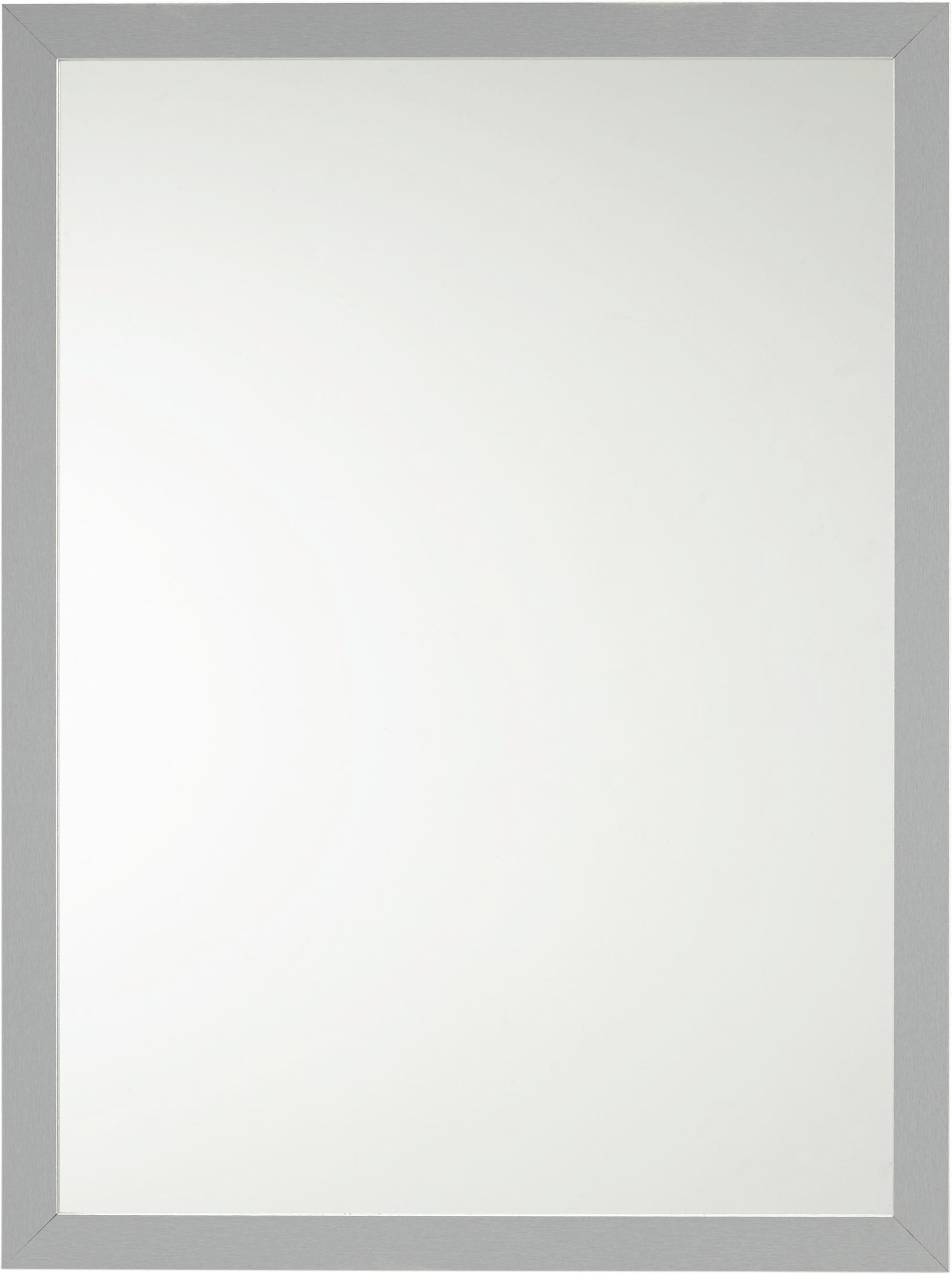 Wandspiegel ca. 60x80x2cm - Silberfarben, Glas/Holzwerkstoff (60/80/2cm) - MÖMAX modern living