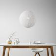 Viseča Svetilka Sophia - bela, Trendi, umetna masa/naravni materiali (50cm) - Mömax modern living