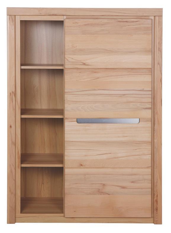 Highboard Kernbuche - KONVENTIONELL, Holz/Holzwerkstoff (98/139/37cm) - Zandiara