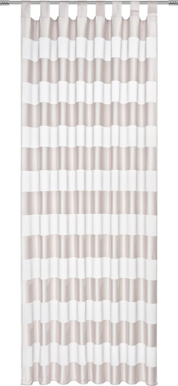 Končana Zavesa Sonja -top- - siva, Konvencionalno, tekstil (140/245cm) - Mömax modern living