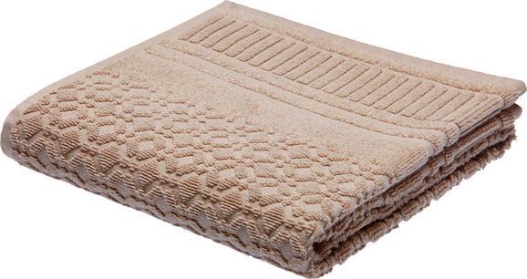 Brisača Carina - rjava, Romantika, tekstil (50/100cm) - Mömax modern living