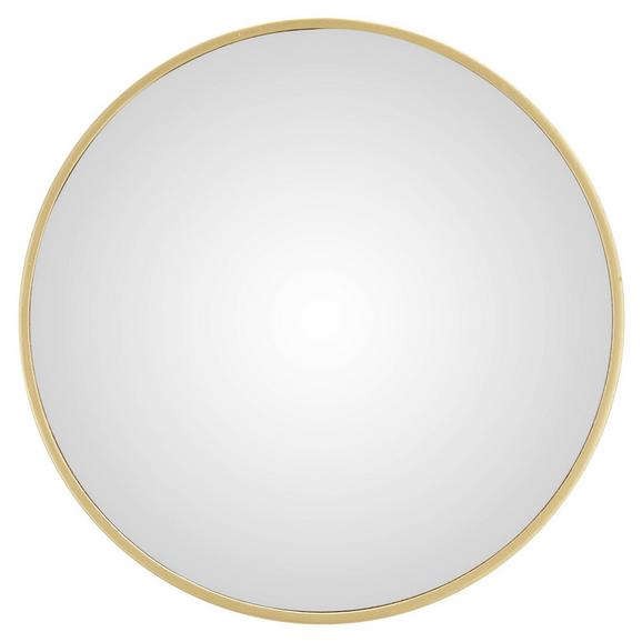 Wandspiegel in Goldfarben - Goldfarben, MODERN, Holzwerkstoff/Kunststoff (30/30/2,5cm) - Modern Living