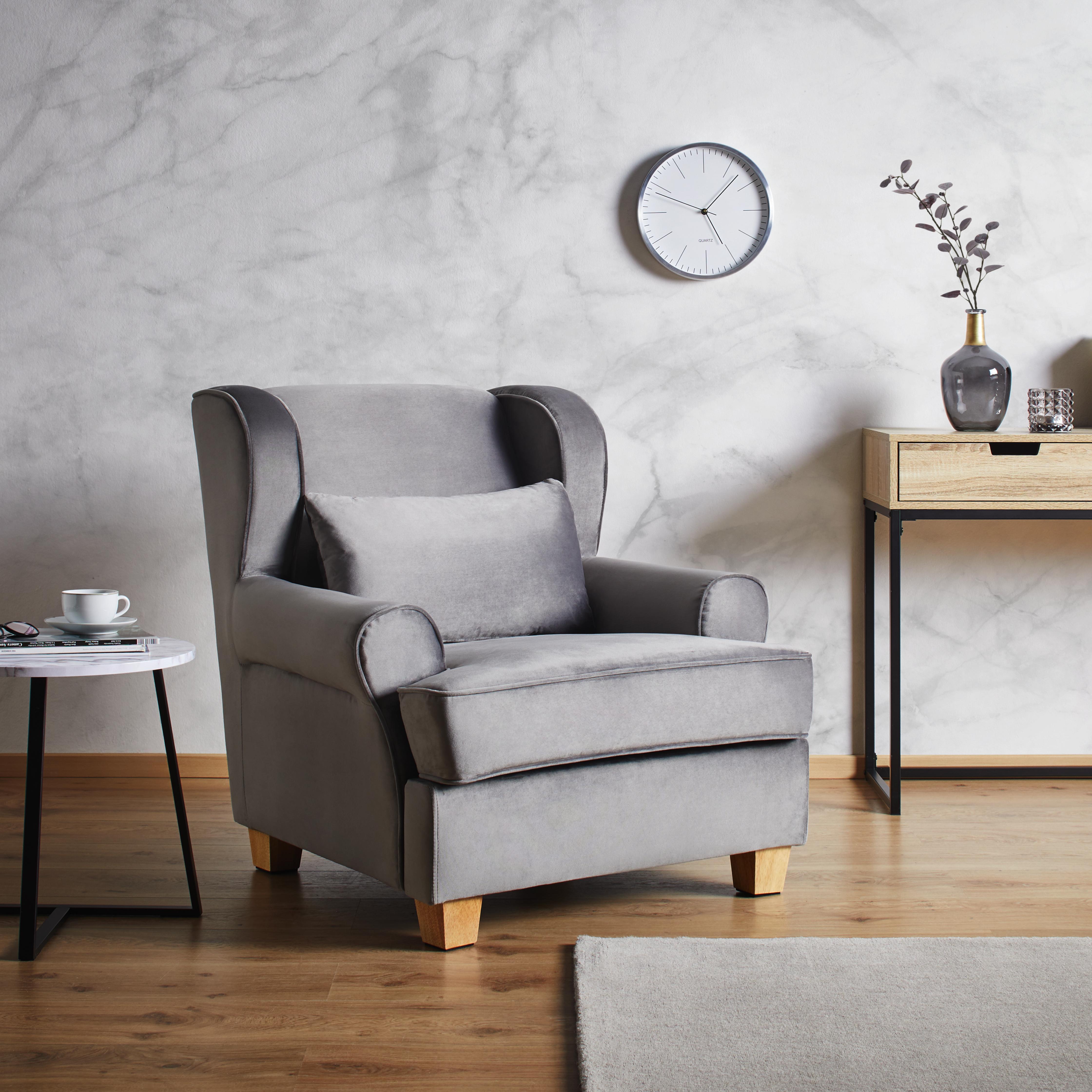 fernsehsessel in grau online bestellen. Black Bedroom Furniture Sets. Home Design Ideas