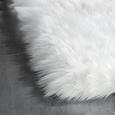 Ovčja Koža Teddy - bela, Romantika, tekstil (100/150cm) - Mömax modern living