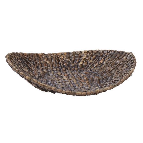 Okrasna Skleda Krisi - rjava, Trendi, kovina/ostali naravni materiali (37/9cm) - Mömax modern living