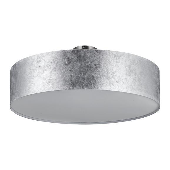 Deckenleuchte Emelle - Nickelfarben, MODERN, Kunststoff/Metall (60/24cm) - Mömax modern living