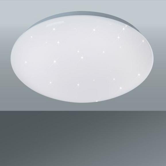 Stropna Led-svetilka Starlight - bela, Moderno, umetna masa (30/10cm)
