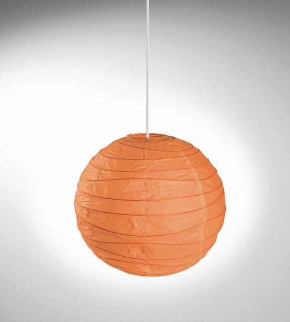 Senčnik Za Svetilko Valentina - oranžna, Konvencionalno, papir/kovina (50cm) - Mömax modern living