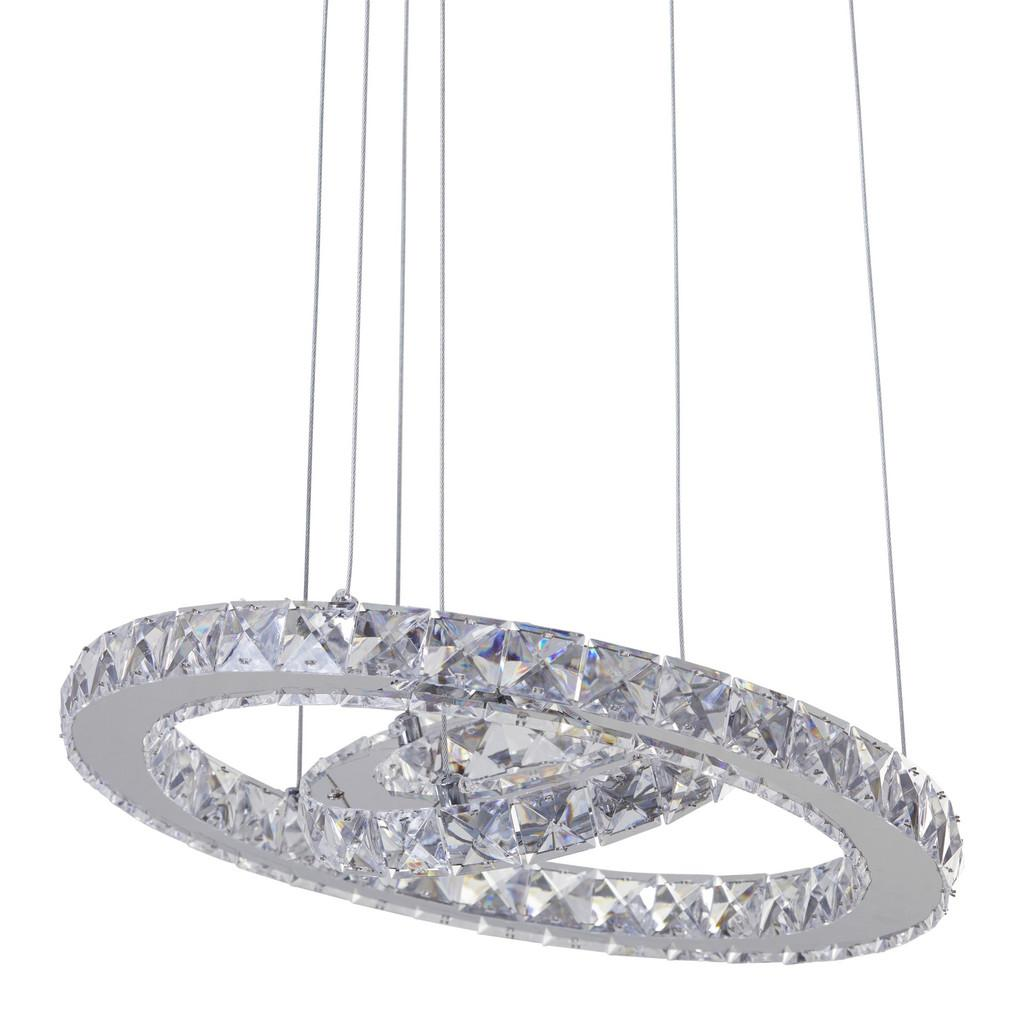LED-Hängeleuchte Forli, max. 24 Watt