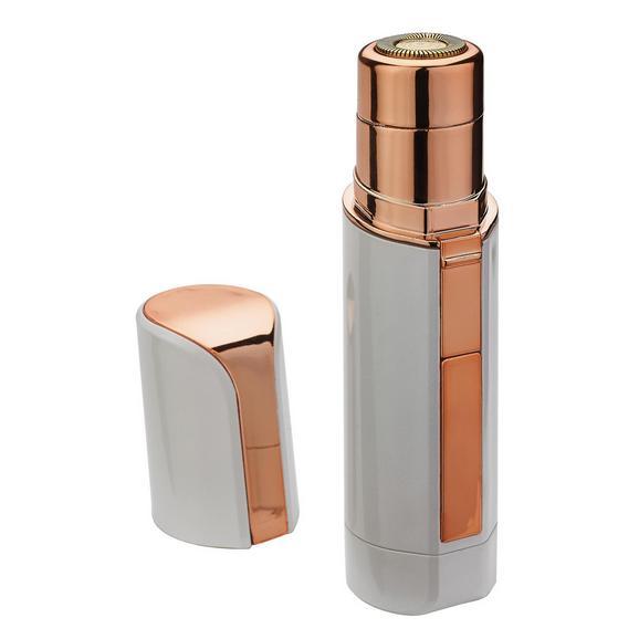 Damenrasierer Roxy Pocket in Goldfarben/Weiß - Goldfarben/Weiß, Kunststoff/Metall (2,5/11,5cm) - Mediashop