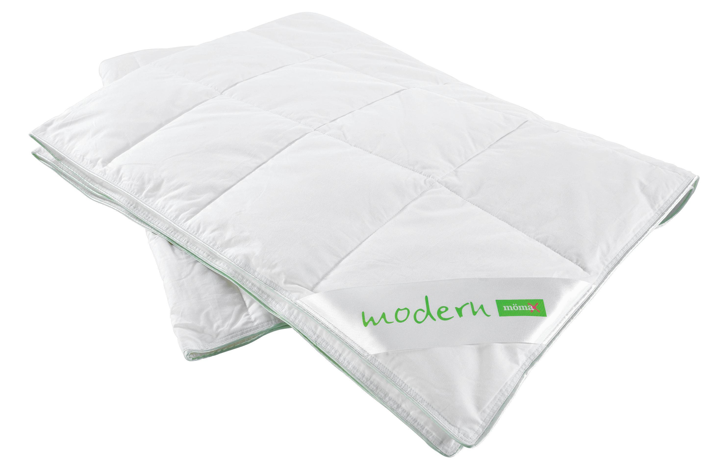 Kassettendecke Modern, ca. 135-140x200cm - Weiß, Textil (135/200cm) - MÖMAX modern living