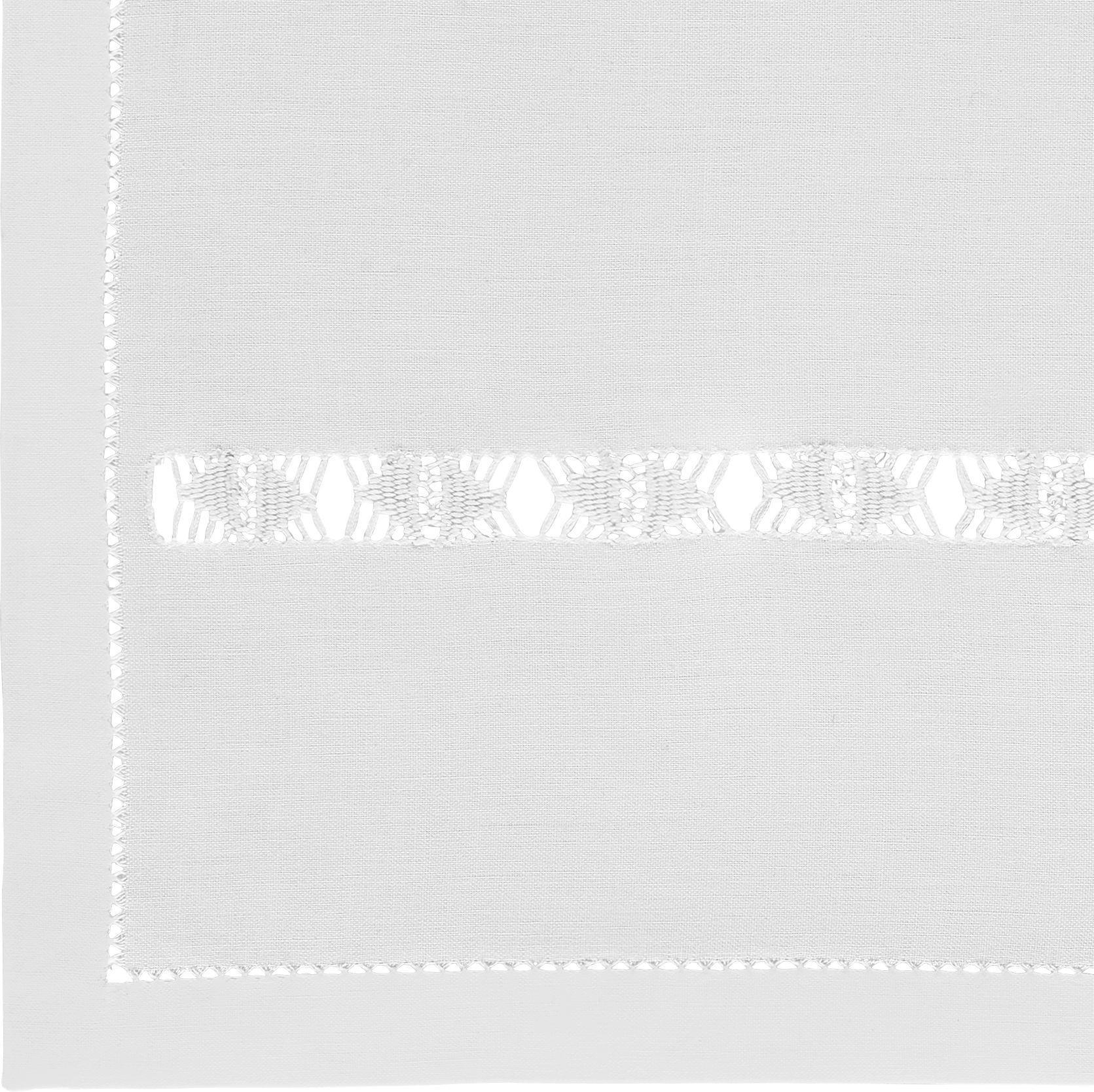 Tischset Mona 40x40cm - Weiß, ROMANTIK / LANDHAUS, Textil (40/40cm) - MÖMAX modern living