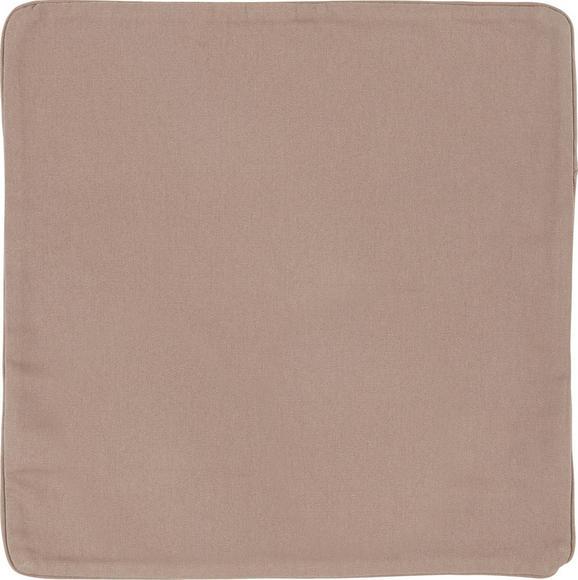 Párnahuzat Steffi - Taupe, Textil (40/40cm) - Mömax modern living