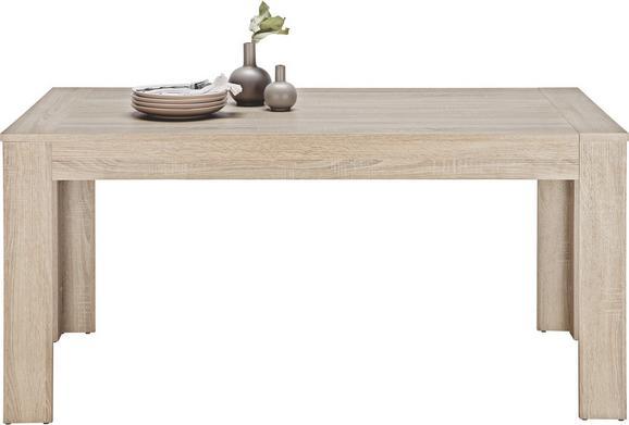 Esstisch Trüffeleichefarben - Trüffeleichefarben, MODERN, Holzwerkstoff (160-220/76/90cm) - BASED