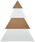 Dekobaum Tree H ca. 86 cm - Braun/Weiß, MODERN, Holzwerkstoff (71/12/86cm)
