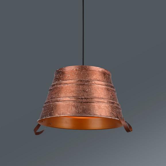 Hängeleuchte Hanno max. 60 Watt - Kupferfarben, LIFESTYLE, Metall (45/180/cm) - Premium Living