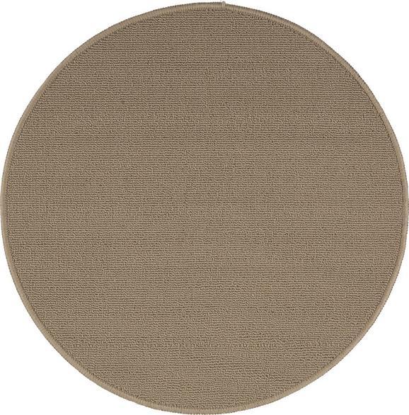 Teppich Eton 2 Beige D. 90cm - Beige, LIFESTYLE, Textil (90cm) - Mömax modern living