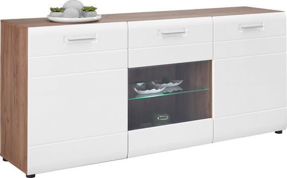 AVENSIS AVENSIS - bijela/boje hrasta, MODERN, drvni materijal/plastika (180/82,6/43,1cm) - Luca Bessoni