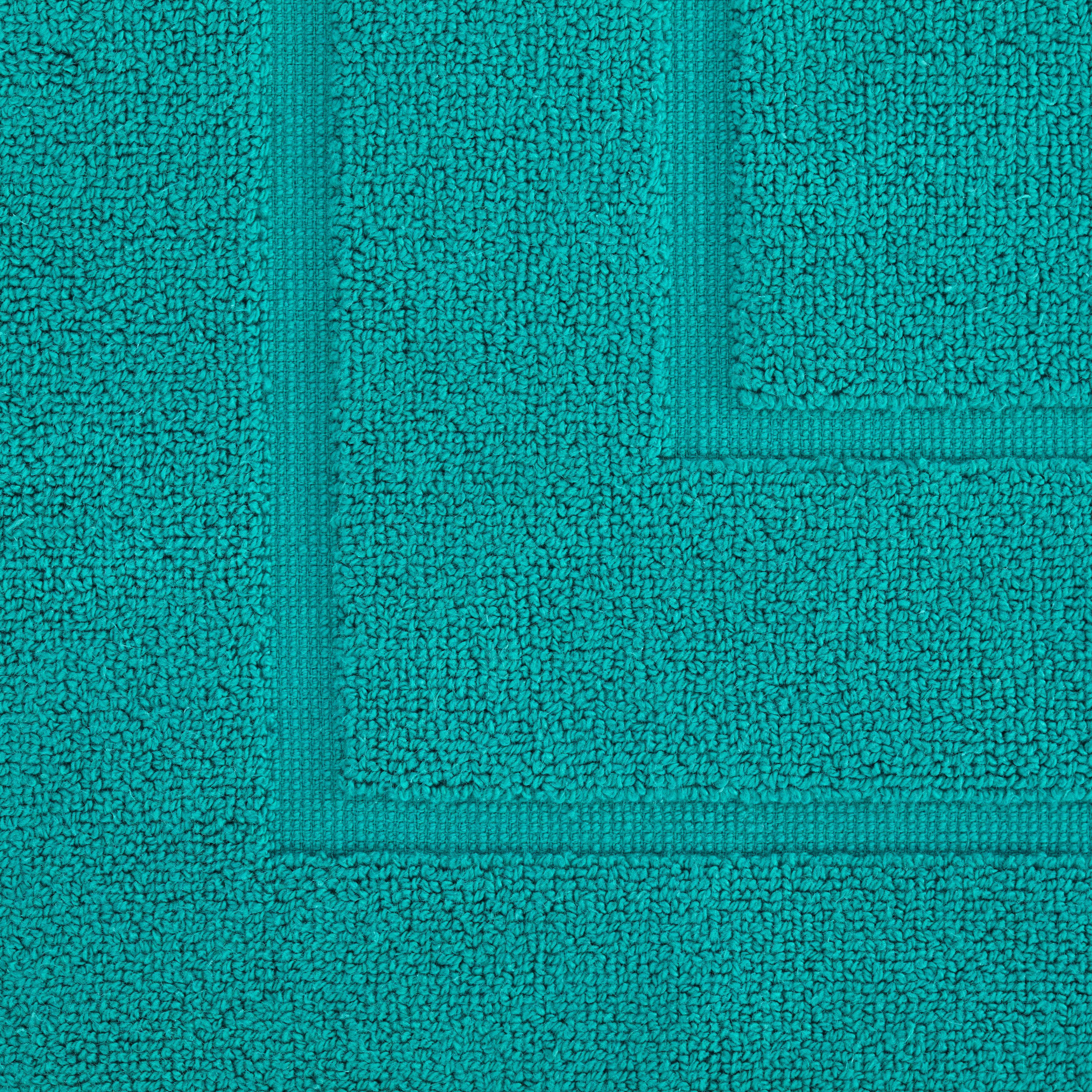 Badematte Dolly 50x80cm - Türkis, MODERN, Textil (50/80cm) - MODERN LIVING