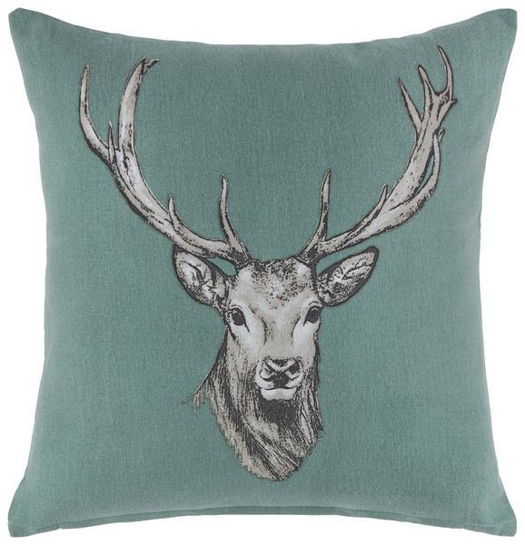 Díszpárna Witti - zöld, modern, textil (45/45cm) - MÖMAX modern living