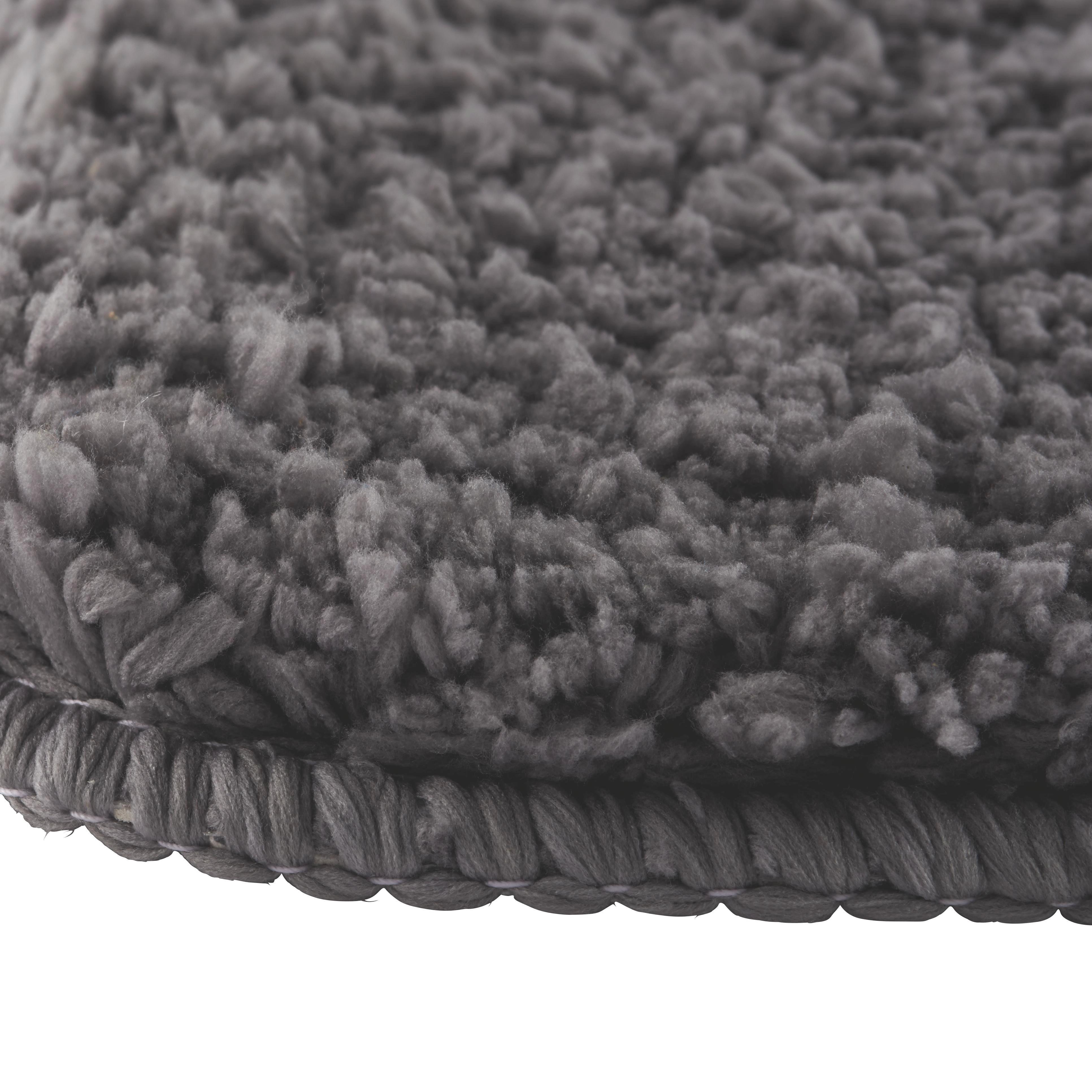 Badematte Christina ca. 60x90cm - Grau, Textil (60/90cm) - MÖMAX modern living