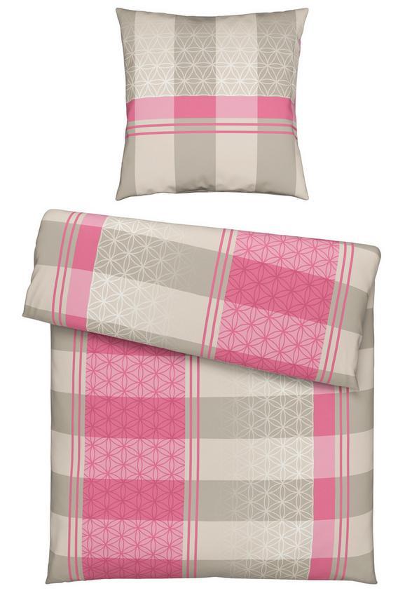 Bettwäsche Benedict, ca. 135x200cm - Pink/Grau, Textil (135/200cm) - MÖMAX modern living