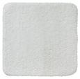 Badematte Juliane Weiß - Weiß, MODERN, Textil (50/50cm) - Premium Living