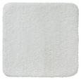 Kupaonski Otirač Juliane - bijela, Modern, tekstil (50/50cm) - Premium Living