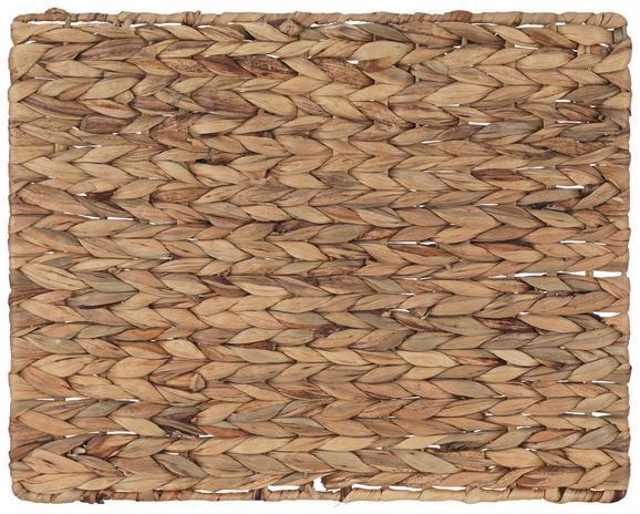 Tischset Gloria Braun - Braun, Weitere Naturmaterialien (43/34cm)