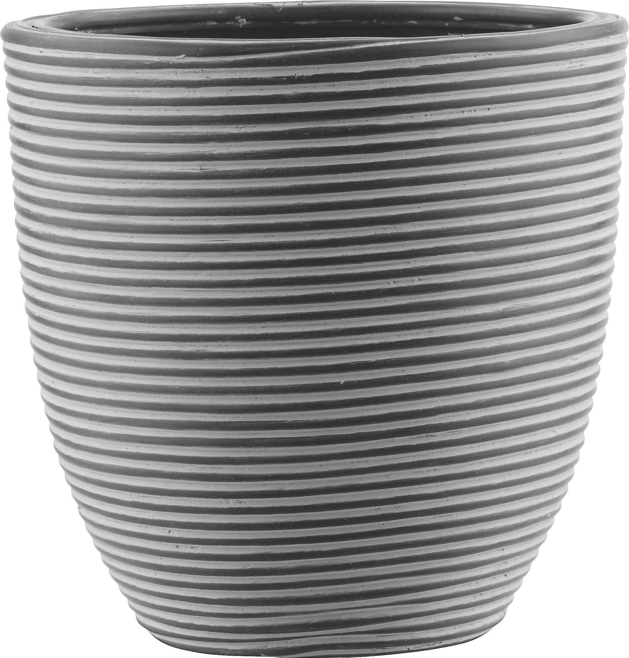 Kaspó Marlene - M - fekete, Lifestyle, műanyag (21/21cm) - MÖMAX modern living