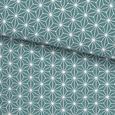 Posteljnina Emma - modra/svetlo zelena, Konvencionalno, tekstil (140/200cm) - Modern Living