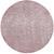 Webteppich Rubin in Rosa Ø ca. 200cm - Rosa, MODERN (200cm) - Mömax modern living
