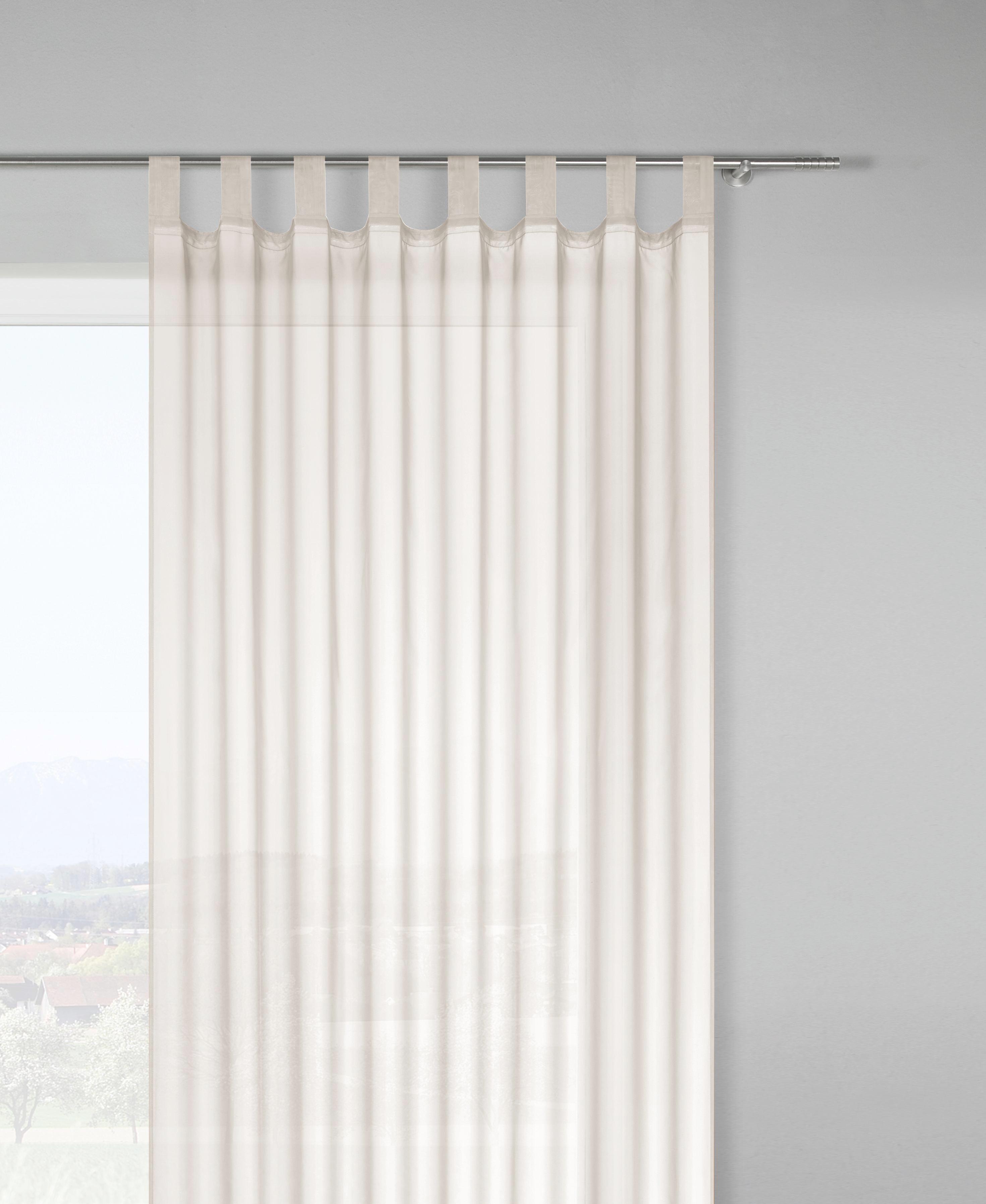 Készfüggöny Hanna - natúr színek, textil (140/245cm) - MÖMAX modern living