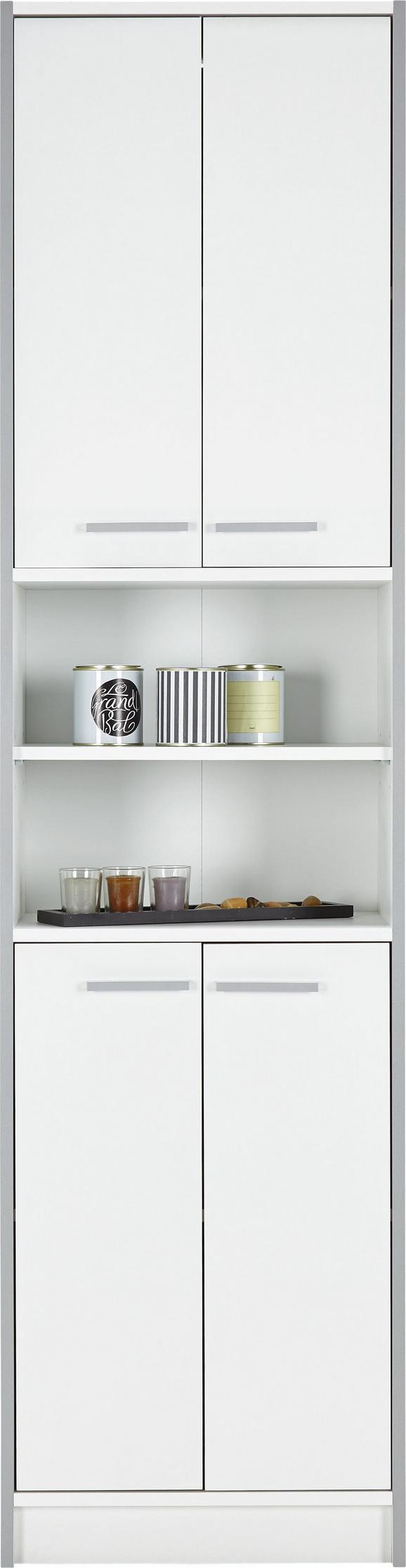 Visoka Omara Luna Ii - umetna masa/leseni material (50/195/32cm) - Based