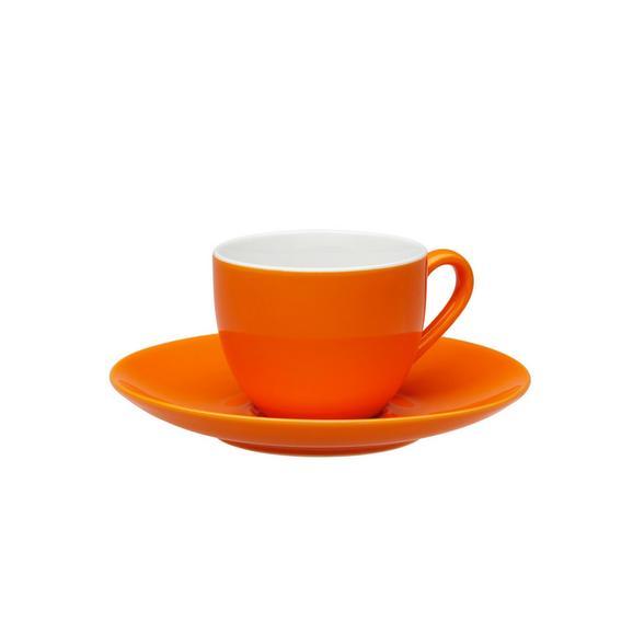 Eszpresszó Csésze És Csészealj Sandy - Narancs, konvencionális, Kerámia (6,4/5cm) - Mömax modern living