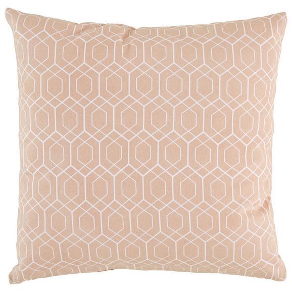 Zierkissen Honeycomb Rosa ca.45x45cm - Rosa, MODERN, Textil (45/45cm) - Mömax modern living