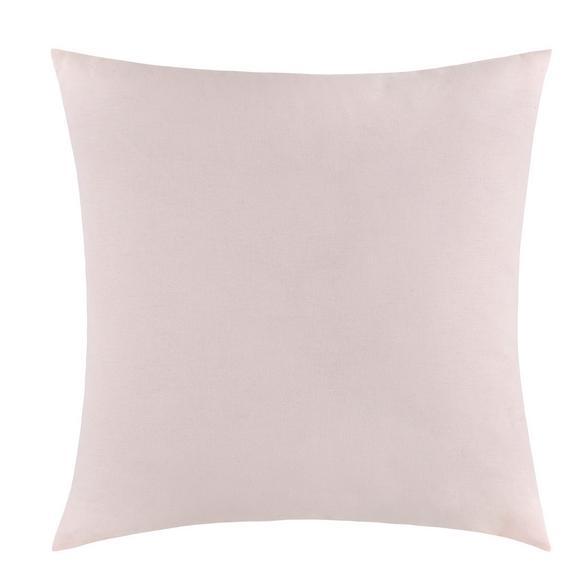 Pernă Decorativă Zippmex - roz deschis, textil (50/50cm) - Based