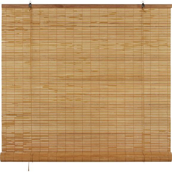 Rollo Woody Braun ca. 120x180cm - Braun, LIFESTYLE, Holz (120/180cm) - Mömax modern living