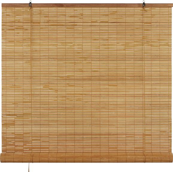 Rollo Woody in Braun, ca. 120x180cm - Braun, LIFESTYLE, Holz (120/180cm) - Mömax modern living