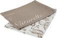 Geschirrtuch Florentine Aus 100% Baumwolle - Türkis/Rosa, ROMANTIK / LANDHAUS, Textil (50/70cm) - MÖMAX modern living