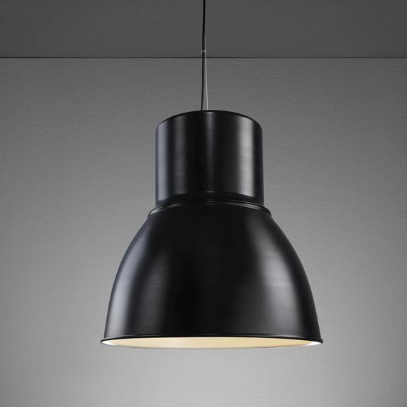 Pendelleuchte Victor - Schwarz/Weiß, MODERN, Metall (47/47/120cm) - Mömax modern living
