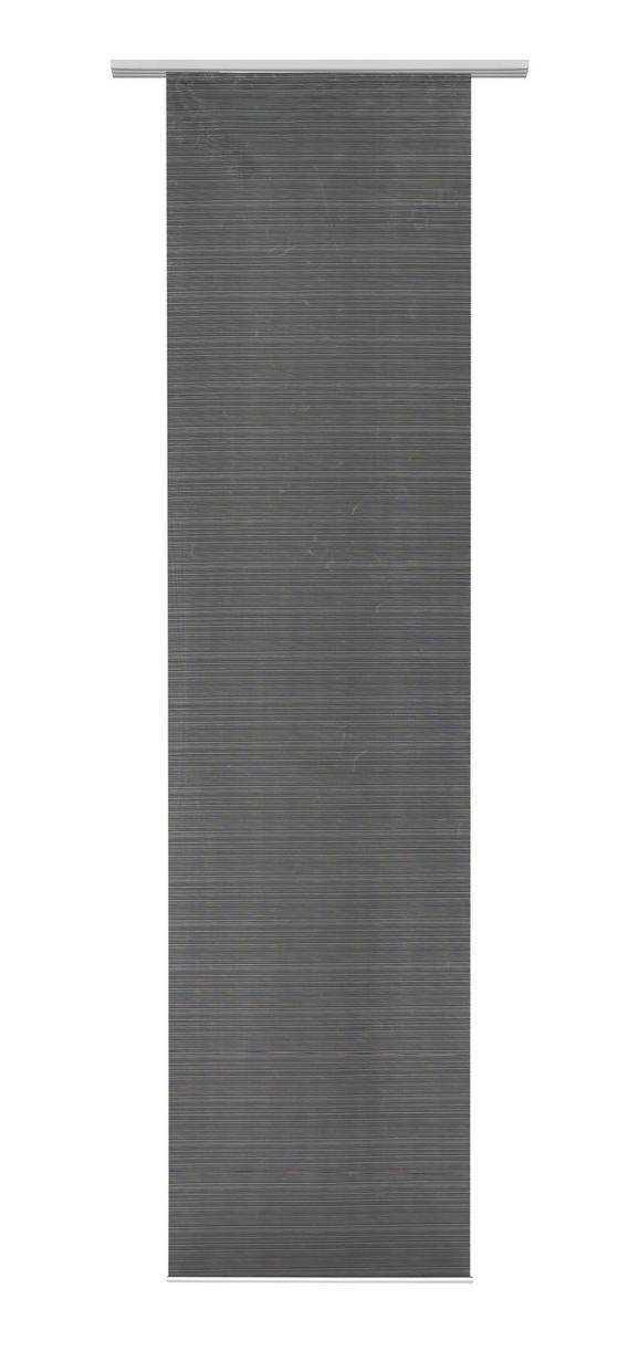 Flächenvorhang Loft in Schwarz, ca. 60x245cm - Schwarz, MODERN, Textil (60/245cm) - Mömax modern living
