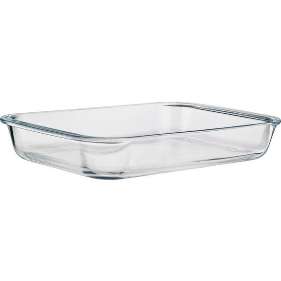 Pekač Greta - prozorna, steklo (25,8/4,5/14,9cm) - Mömax modern living